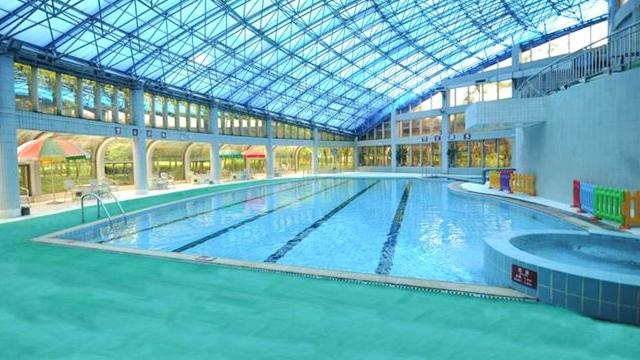 张家港游泳馆建造工程使用中塑PPR水管