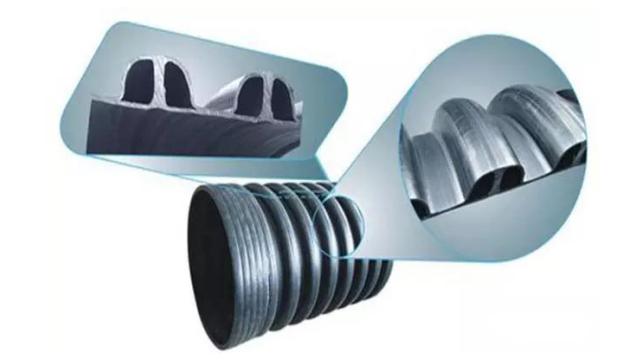 金属内增强聚乙烯(HDPE)螺旋波纹管