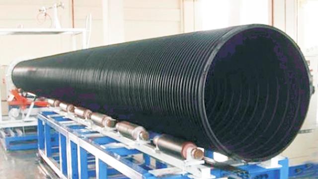 浅谈大直径HDPE中空壁缠绕管施工工艺