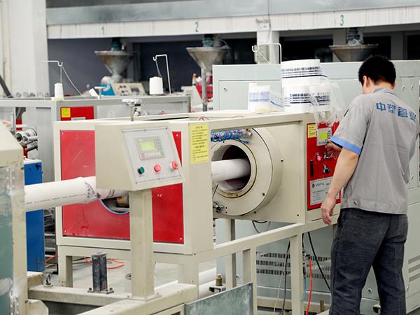 中塑PVC管生产线