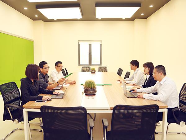 中塑员工会议
