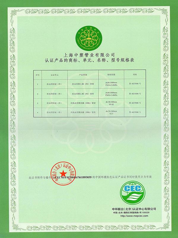 环境标志认证