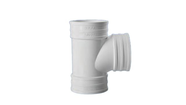 PVC排水管等径三通