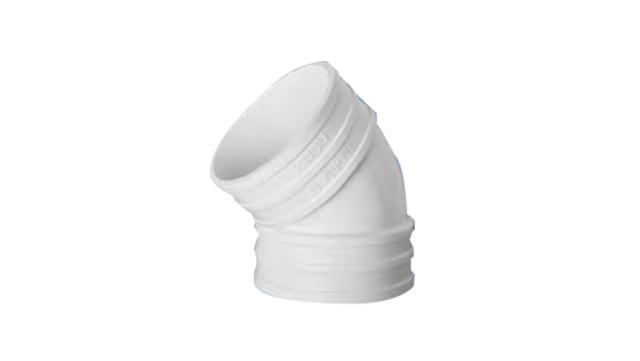 PVC排水管45°弯头